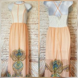 City Triangles Maxi Dress Size M